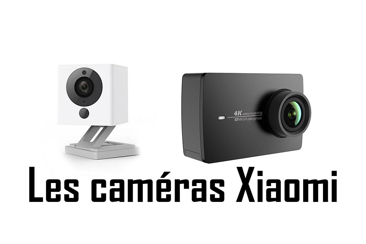 image Les caméras d'actions et Webcam Xiaomi
